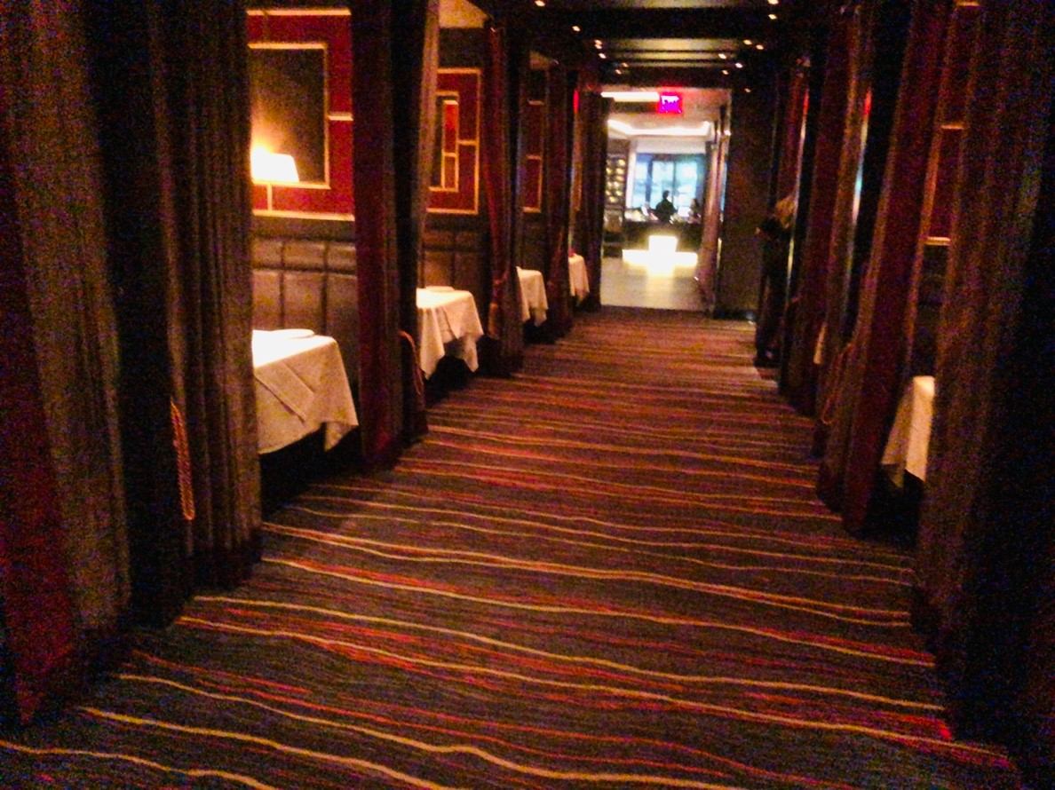 Ruth's Chris Steak House 座席