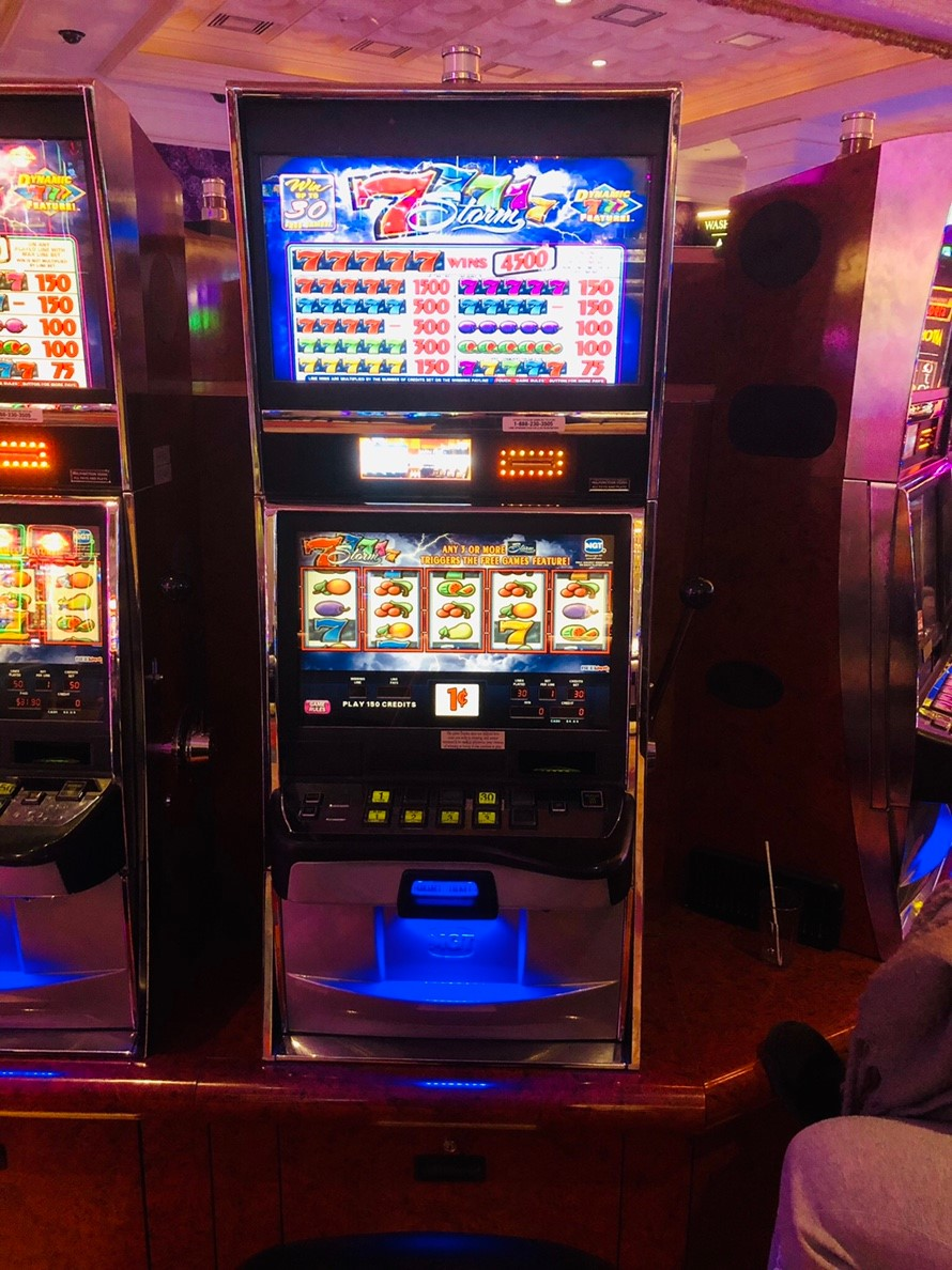 Fallsview Casino スロット台 ④
