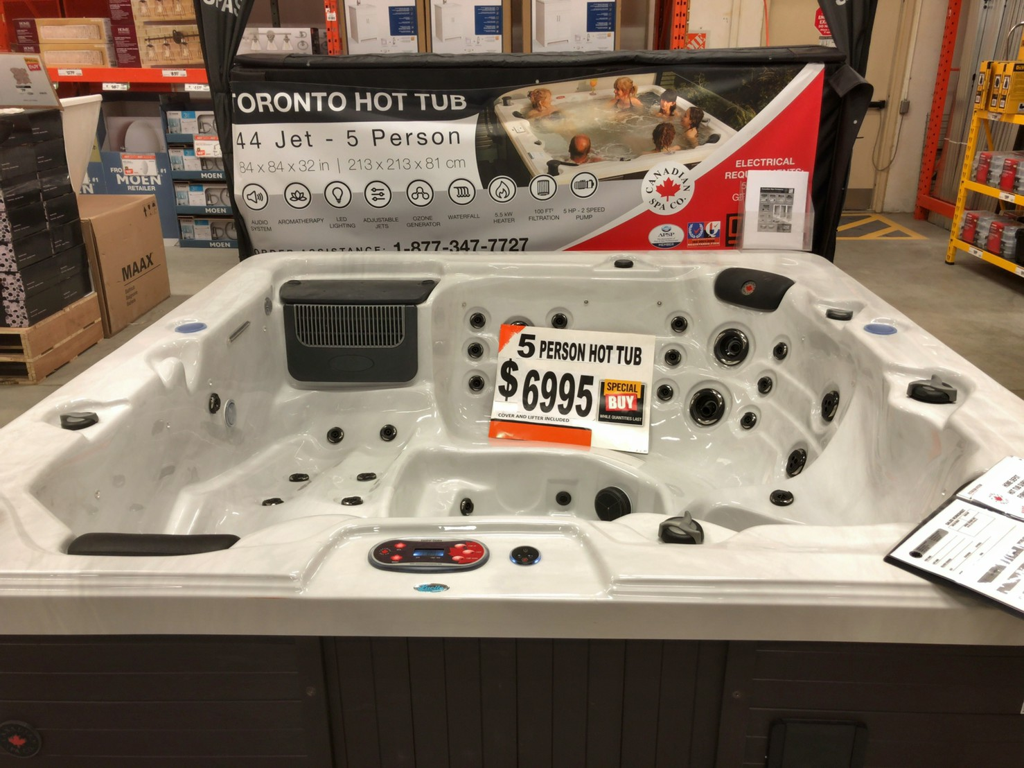 The home depot Bathtub ①