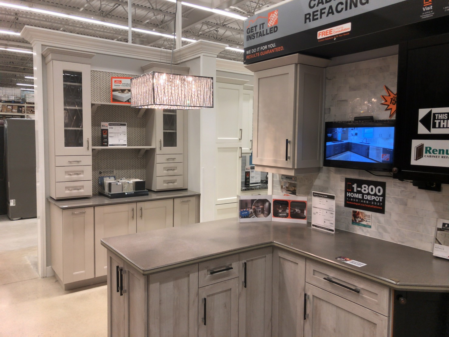 The home depot Kitchen ①
