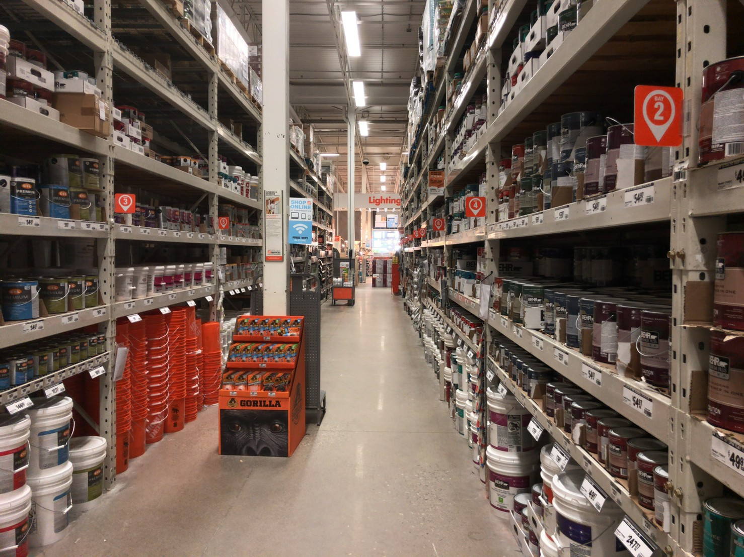 The home depot Paints