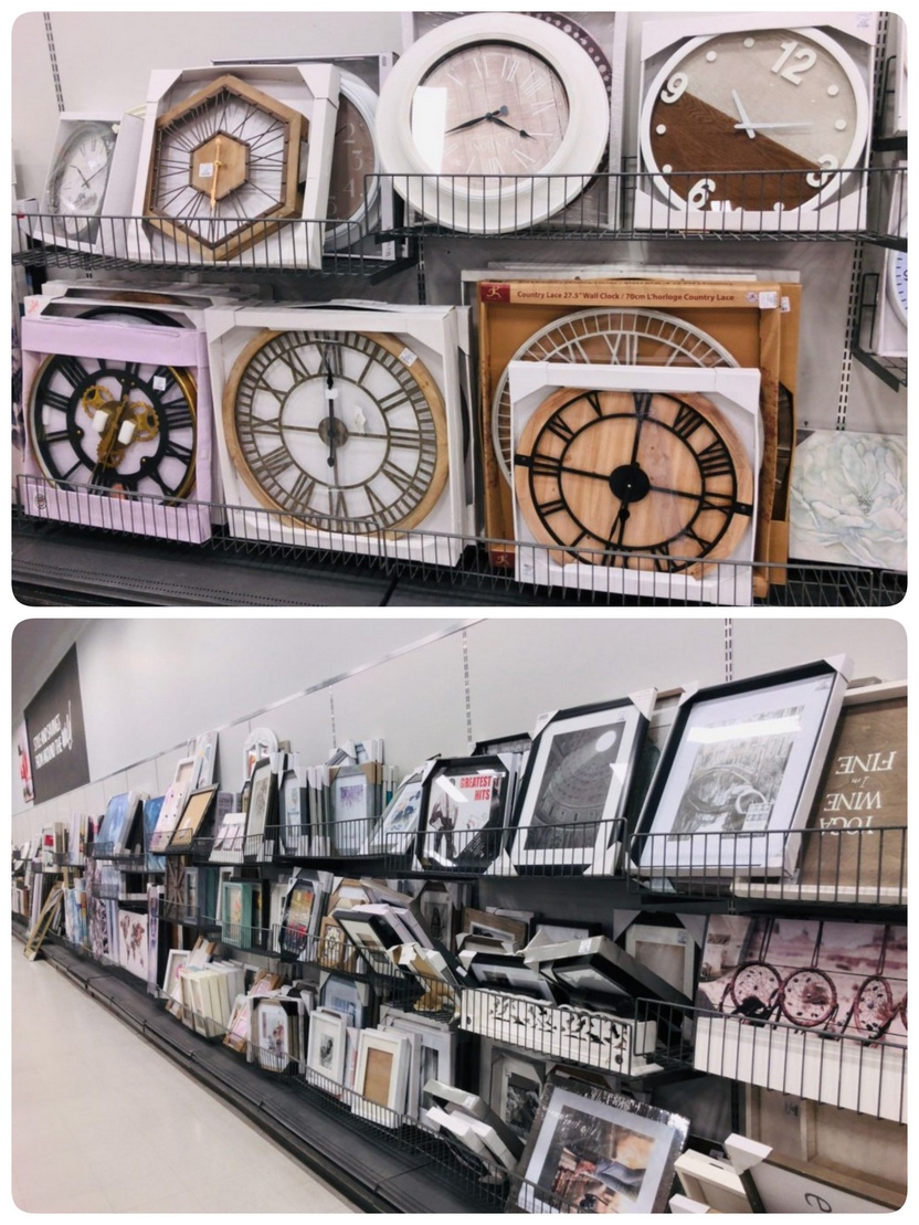 Clocks and pictures